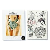"Miami Tattoos Переводные тату Miami Tattoos ""Art by Nora Ink"""