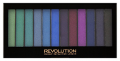 Makeup Revolution Redemption Palette Mermaids vs Unicorns - Палетка теней