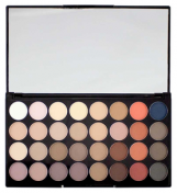 Makeup Revolution Ultra 32 Shade Eyeshadow Palette Flawless Matte 2 - Палетка из 32 оттенков