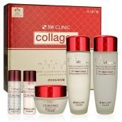 3W Clinic - Набор для ухода за лицом лифтинг (Collagen skin care 3 items set)