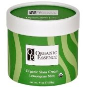 Organic Essence Organic Shea Cream Lemongrass Mint - Органический крем Карите Лемонграсс и Мята 114 гр