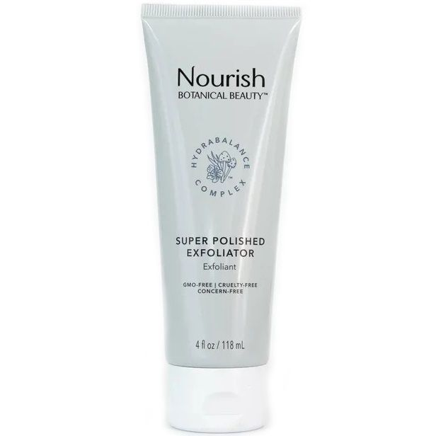 NOURISH BOTANICAL BEAUTY Super Polished Exfoliator - Скраб для лица Супер очищение 118 мл
