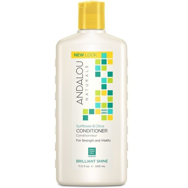 ANDALOU NATURALS Sunflower & Citrus Brilliant Shine Conditioner - Кондиционер для блеска волос 340 мл