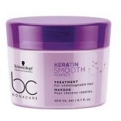 Schwarzkopf Professional BC Bonacure Keratin Smooth Perfect - Маска 200 мл