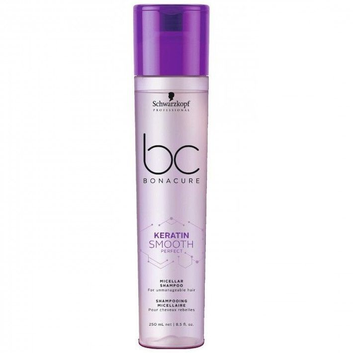 Schwarzkopf Professional BC Bonacure Keratin Smooth Perfect Shampoo - Мицеллярный Шампунь 250 мл
