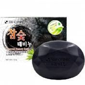 3W Clinic Charcoal Benety Soap - Мыло для лица и тела с бамбуковым углём 150 гр